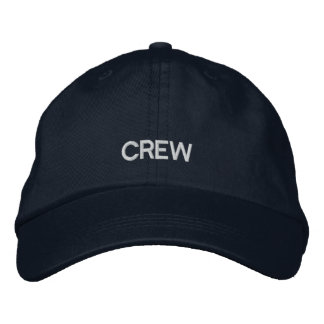 Crew Embroidered Adjustable Cap Embroidered Hats