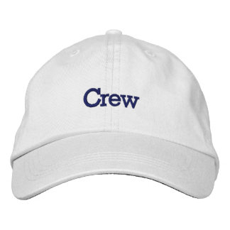 Crew Hat Embroidered Baseball Caps