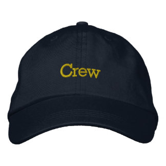Crew Hat Embroidered Hat