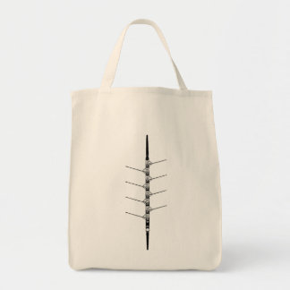 Crew rowing - Grocery Bag