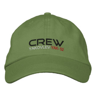 CREW Yak-52 Embroidered Hat