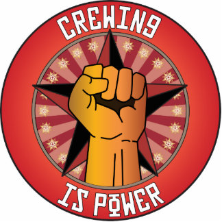 Crewing Is Power Photo Cut Out