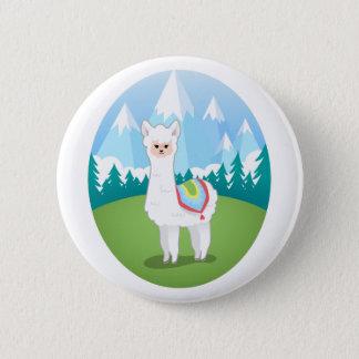 Cria The Alpaca 2 Inch Round Button