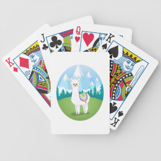 Cria The Alpaca Bicycle Playing Cards