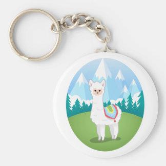 Cria The Alpaca Keychain