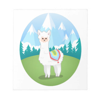Cria The Alpaca Notepad