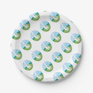 Cria The Alpaca Paper Plate