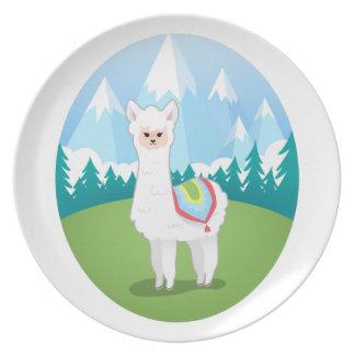 Cria The Alpaca Plate
