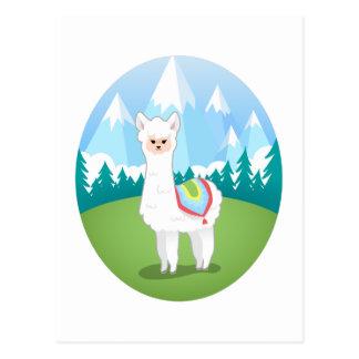 Cria The Alpaca Postcard