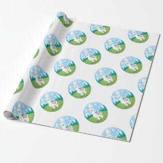 Cria The Alpaca Wrapping Paper