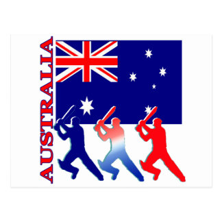Cricket Australia Postcard