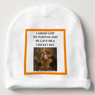 cricket baby beanie