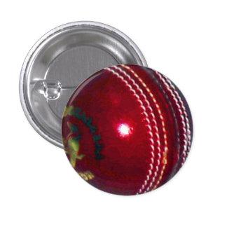 Cricket Ball 1 Inch Round Button
