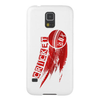 Cricket Ball Hit For Six Case For Galaxy S5
