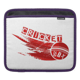 Cricket Ball Sixer iPad Sleeve