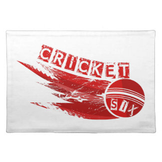 Cricket Ball Sixer Placemats