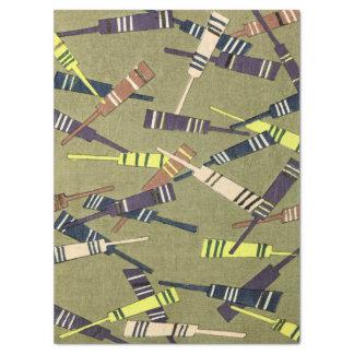 Cricket Bat Pattern Tissue Paper