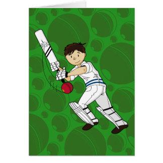 Cricket Batsman Card