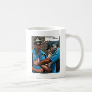 Cricket Batting Coach Coffee Mug