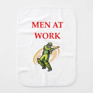 cricket burp cloth