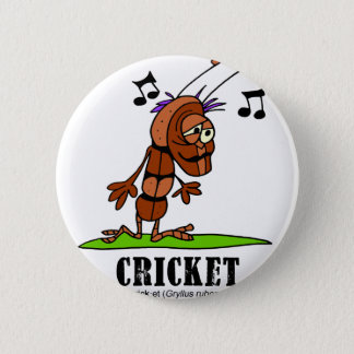 Cricket by Lorenzo © 2018 Lorenzo Traverso 2 Inch Round Button