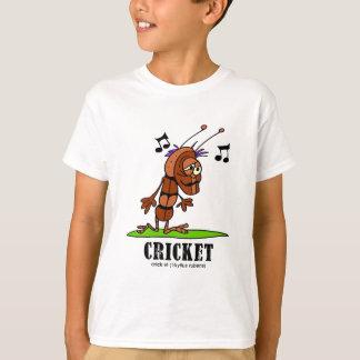 Cricket by Lorenzo © 2018 Lorenzo Traverso T-Shirt