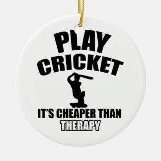 cricket   design ceramic ornament