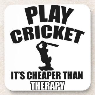 cricket   design coaster