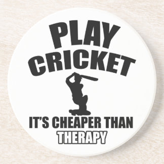 cricket   design coaster