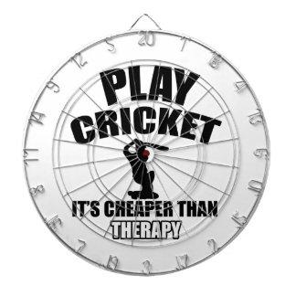 cricket   design dartboard