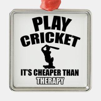 cricket   design metal ornament