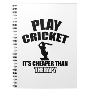 cricket   design notebook