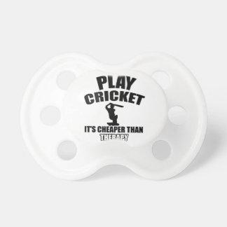 cricket   design pacifier