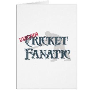 Cricket Fanatic Card