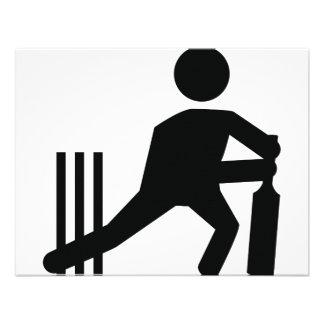 cricket icon invitations