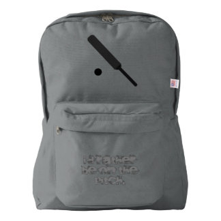 Cricket I'd Rather Be on the Pitch Backpack