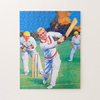 Cricket Jigsaw Puzzle with Gift Box