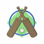 Cricket Logo Embroidered Jacket