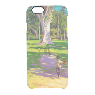 Cricket match Botanical Gardens Dominica Clear iPhone 6/6S Case