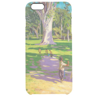 Cricket match Botanical Gardens Dominica Clear iPhone 6 Plus Case