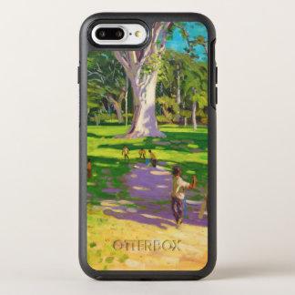 Cricket match Botanical Gardens Dominica OtterBox Symmetry iPhone 7 Plus Case