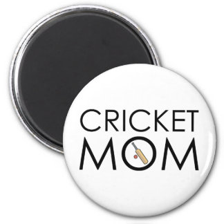 Cricket Mom Magnet