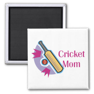Cricket Mom Magnets