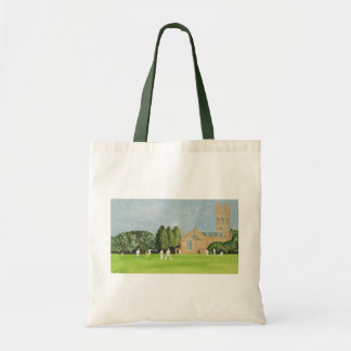 Cricket on Churchill Green Tote Bag