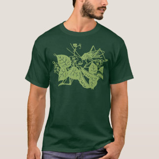 Cricket on Green T-Shirt
