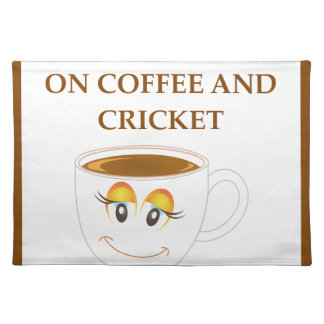 CRICKET PLACEMAT
