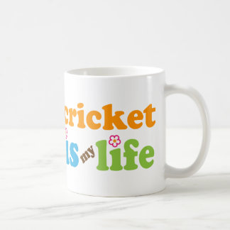 Cricket Player Gift Girls Coffee Mug