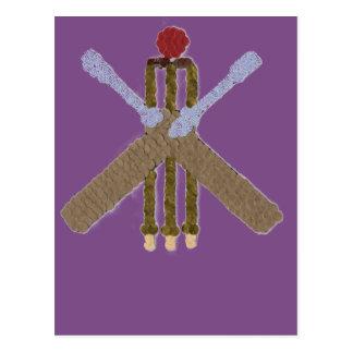 Cricket Postcard