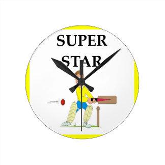cricket round clock
