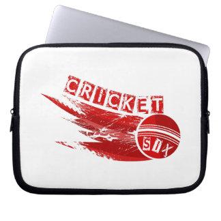 Cricket Sixer Laptop Sleeves